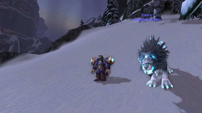I wonder if FInal has ever thought of using his pet as a mount? Hmm