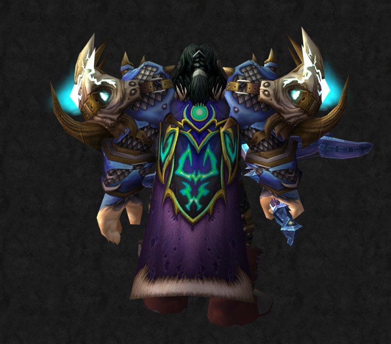 Male Dwarf Hunter - Back