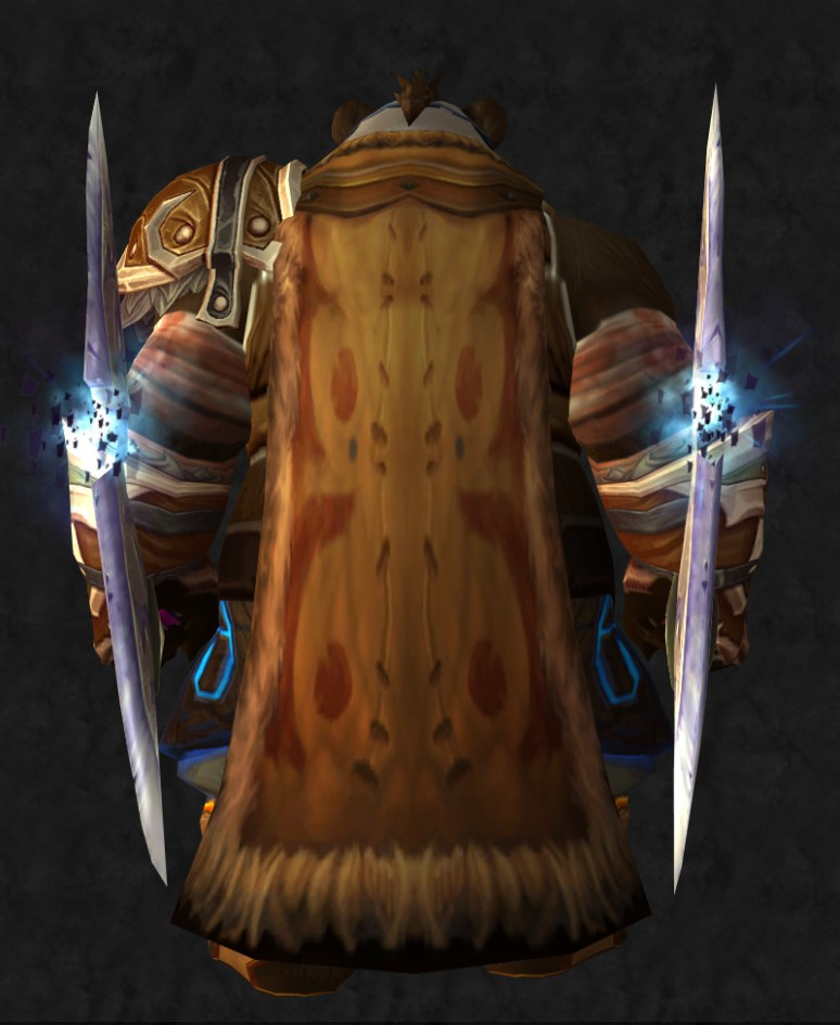 Male Pandaren Monk - Back