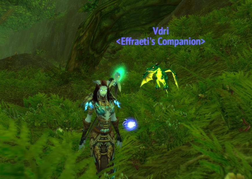 Squee! Cute lil Emerald Whelpling!