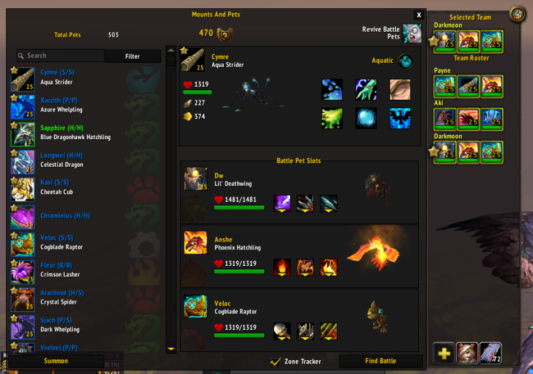 Addons - Pet Journal