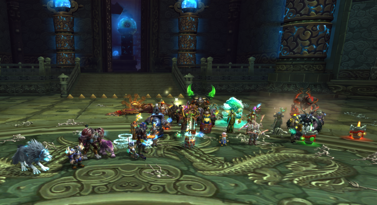 Twin Consorts down in 25man!