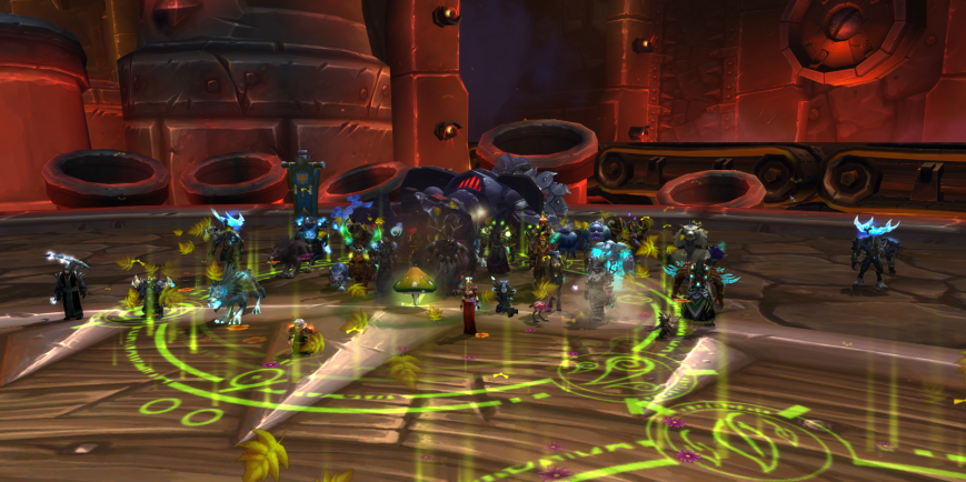 Siegemaster Blackfuse down in 25man!
